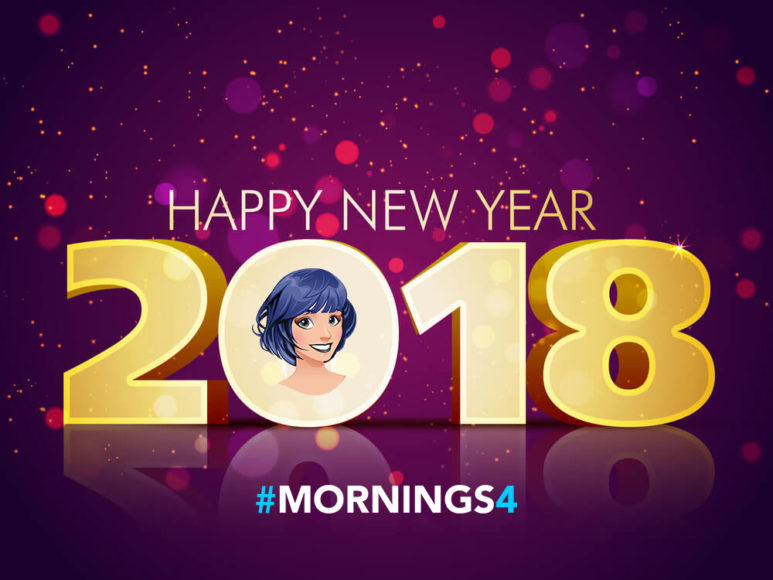 #MORNINGS4: Wishing you a Happy New Year!