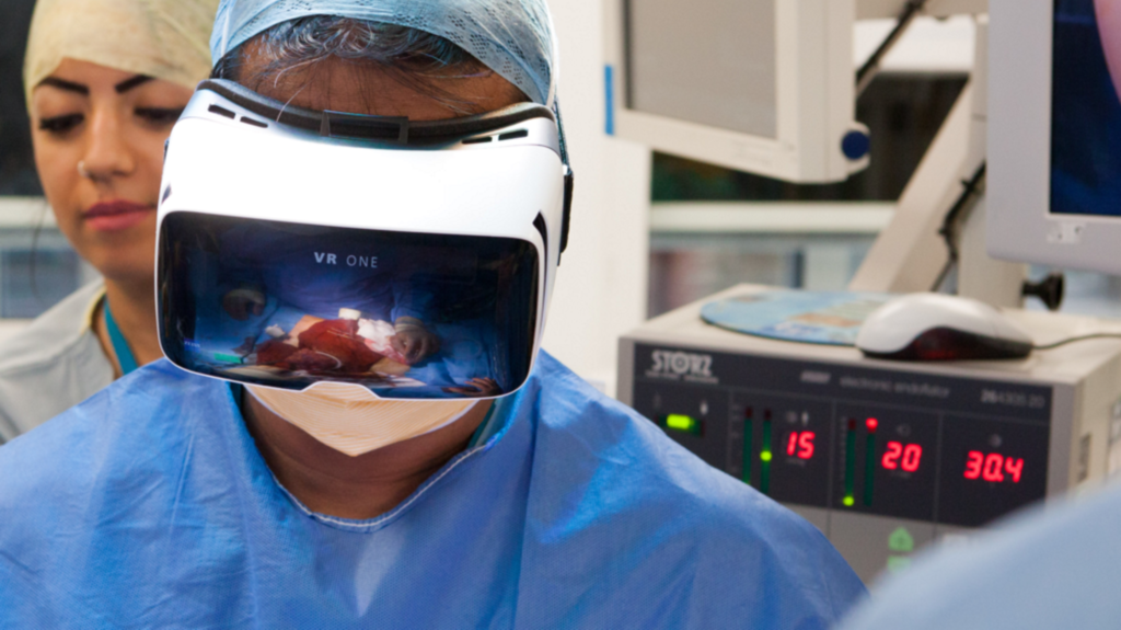 VR One AR In Medical Practice