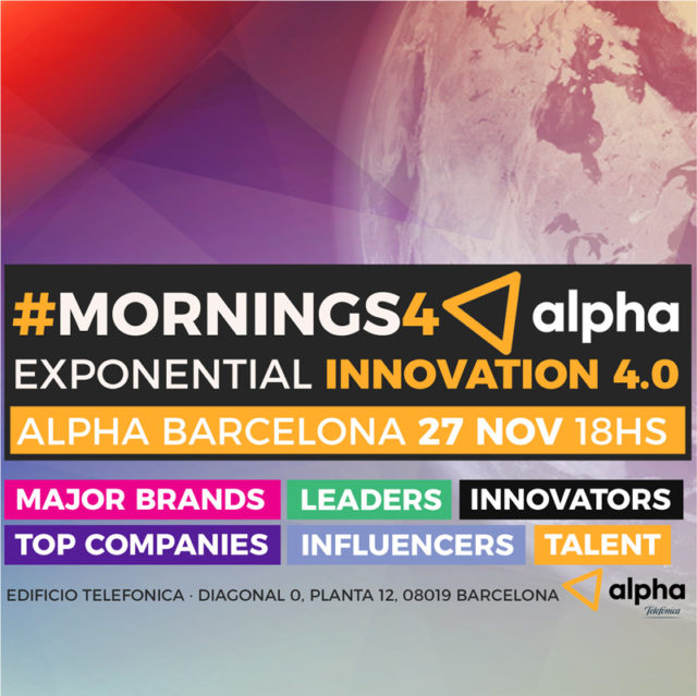 The Exponential Innovation 4.0 - Mornings4 Alpha